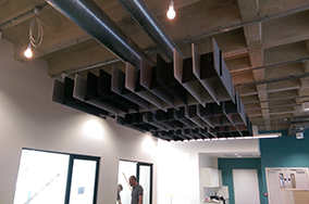 Autex Acoustics, Quietspace Lattice Baffles